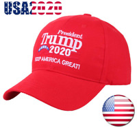 Donald Trump 2020 Keep Make America Great ! Cap President Election Hat Red