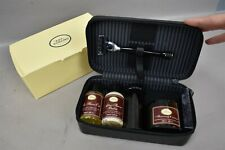 The Art of Shaving Travel Case Set Sandalwood Gillette Shave Oil Balm Cream
