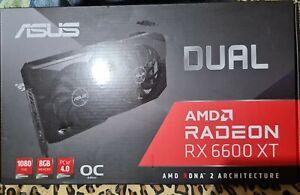 ASUS Dual -RX6600XT-O8G AMD Radeon RX 6600 XT 8 GB GDDR6 OC