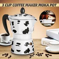 150ML Aluminum Espresso Coffee Stove Top Italian Moka Pot Percolator Home Jug