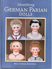 ID  German Parian Dolls Mary Gorham Krombholz Simon & Halbig, Kestner, Hertwig