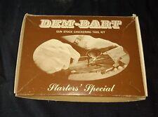 Dem-Bart Gun Stock Checkering Tool Kit Starter's Special