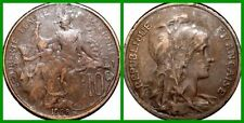 Uncertified Bronze French Coins