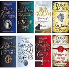 Diana gabaldon collection 8 Books outlander series dragonfly inamber voyager NEW