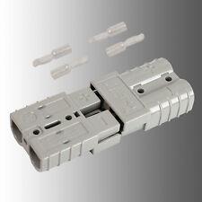 Satz Batteriestecker mit Kupplung grau Anderson SB 50/Rema SR 50 A 14mm²