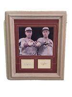 """STL. Cardinals Legends Dizzy Dean / Paul """"Daffy"""" Dean Framed Art. 21x25 NO COA."""