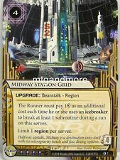 Android Netrunner LCG - 1x Midway Station Grid  #007 - Upstalk