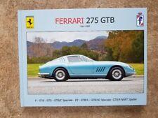 Ferrari 275 GTB - All Versions. Foto Gallery Book. Printnr: 02/50