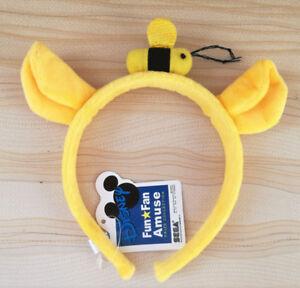 New Winnie the Pooh Character Headband Plush Birthday Ears Halloween Costume