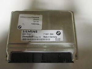 BMW E46/E60/E83 ENGINE DME MS45.1  7561382