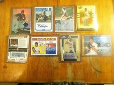 Cubs & Tigers baseball card lot Mark Grace Travis Chapman game worn auto L@@K