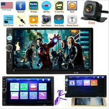 7 Inch DOUBLE 2DIN Car MP5 Player BT Tou+ch Screen Stereo Radio HD+Camera T US
