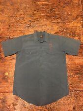 Vintage 1950's Lee's Button Up Shirt Short  Sleeve Chainstitch
