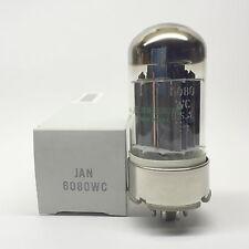 1 x Matched Pair 6080  JAN 6080WC  NOS  GE  USA  Valve Tubes