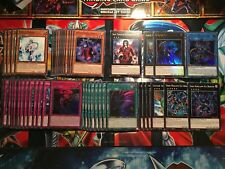 YuGiOh! The Phantom Knights Deck - 50 Cards - Rusty Bardiche, Dante - LEHD *NEW*