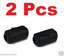 2 Pcs Ferrite Core 1/4 Cord Noise Suppressor