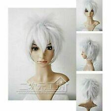Cosplay Short Wigs/Hair Gintama Sakata Silver Cos WIG