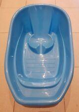Bañera bebé color azul68 largo x 40 ancho x 20 fondo