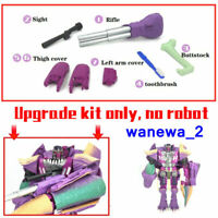 NEW Upgrade Kit FOR Kingdom Megatron(Beast) Filling&Weapon&Toothbrush