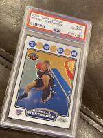 2008 Topps Chrome #184 Russell Westbrook RC Rookie Thunder PSA 10 GEM MINT 🏀