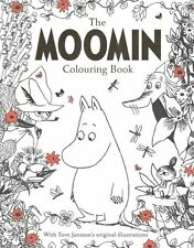 The Moomin Colouring Book 9781509810024 (Paperback, 2016)