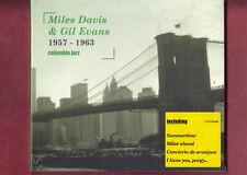 MILES DAVIS & GIL EVANS - 1957-1963 COLUMBIA JAZZ CD DIGIPACK NUOVO SIGILLATO