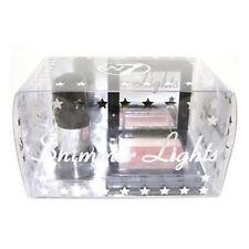 Make Up Set Shimmer Lights Blusher Compact Mirror Brush Cosmetic Gift Set W7