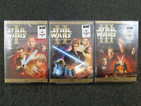 STAR WARS PREQUEL TRILOGY DVD 2008 6 - DISC SET BRAND NEW FACTORY SEALED USA 1