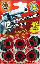 Amorces plastiques de 8 coups par 12 pièces plastic caps 8 shots [p108459]