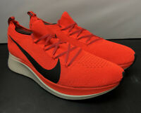Nike Zoom Fly Flyknit Bright Crimson AR4561-600 Running Shoes Mens Size 12 NEW!