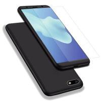 "Etui Coque Integrale Verre Trempe Protection 360 Degré Huawei Y5 (2018) 5.45"""