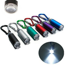 Outdoor Camping Mini Led Super Bright Flashlight Small Torch Lamp Keychain Us