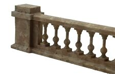 More details for td46-1 2 x  3d printed balustrades 3 o scale model railway scenics unpainted