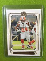 NICK CHUBB NEW CARD Baker Mayfield 's RB CLEVELAND BROWNS 2019 Panini Legacy #25