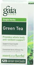 Green Tea, Gaia Herbs, 60 capsule