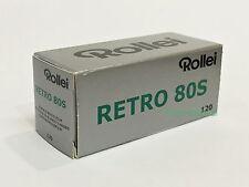 5 rolls Rollei RETRO 80S 120 B&W Film Medium Format