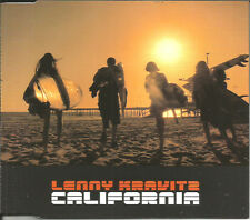 LENNY KRAVITZ California w/Where are running LIVE 2 TRX LIMITED CD Single SEALED