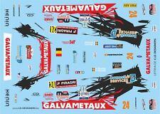 DECALS 1/43 FORD FIESTA WRC - #24 - BOUCHE - RALLYE DE WALLONIE 2015 - D43390