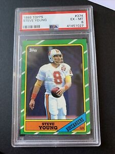 1986 Topps Steve Young PSA 6
