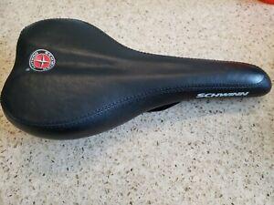Schwinn Cionlli Black Bicycle Saddle Seat Cushioned Logo