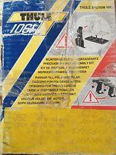 Thule System 1061  Kit# 052 1061-052 New NIB