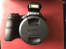 Open Box Sony Cyber-shot DSC-H300 20.1 MP Digital Camera - Black