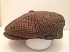 PEAKY BLINDERS COUNTY CHECK CAP PEAKED PEAK NEWSBOY PAPERBOY CABBY BAKER BOY CAP