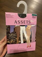 Marvelous Mama Assets By Sara Blakely Size 3 Black Maternity Support Pantyhose