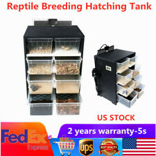 New listing Acrylic Feed Box Reptile Breeding Tank Insect Spider Turtle Cage for Pet /Lizard