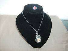"""CUBS BEARS Womens Girls GingerSnap Style Fashion MLB- NFL 22"""" NECKLACE NEW"""