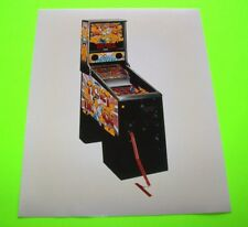 TICKET TAC TOE Original NOS Pinball Machine Promo Photo WILLIAMS Arcade Game
