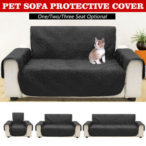 Black 2-Seat Pet Dog Cat Sofa Couch Furniture Protect Cover Waterproof  * //