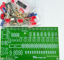 Two Way LED Running Light Kit Unassembled kit for electronic student project