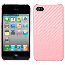 Tapa trasera cubierta protectora Apple iPhone 4/4s rosa pink